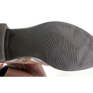 Ecco Shoes - ECCO Sz 38 7-7.5 Hobart 25 Buckle Boot Knee Length